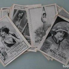 Carteles Publicitarios: PRECIOSOS ANTIGUOS ANUNCIOS PUBLICITARIOS JABON HENO DE PRAVIA – AÑO 1915 - ORIGINALES NO SON COPIAS. Lote 104287211