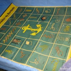 Carteles Publicitarios: CARTEL ANTIGUO PUNTO DE BORDADOS ANCORA 1961. MEDIDAS 65X85 CM. Lote 108395991