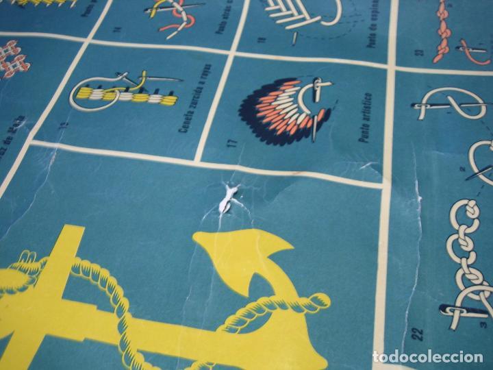 Carteles Publicitarios: Cartel antiguo punto de bordados Ancora 1961. Medidas 65x85 cm - Foto 8 - 108395991