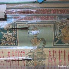 Carteles Publicitarios: CARTEL ANIS AYELO, MALFERIT, GRAN DESTILERIA DE LICORES ANISADOS Y FABRICA DE JARABES,CA1. Lote 108613123