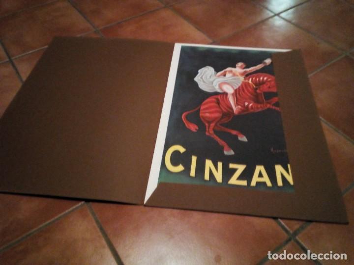 Carteles Publicitarios: Estuche con 5 reproducciones carteles de Epoca Cinzano ( Manifesti d´epoca) Ver 9 fotos - Foto 6 - 110046731