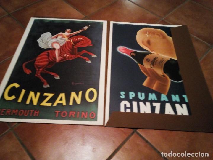 Carteles Publicitarios: Estuche con 5 reproducciones carteles de Epoca Cinzano ( Manifesti d´epoca) Ver 9 fotos - Foto 7 - 110046731