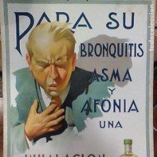 Carteles Publicitarios: CARTEL NERIKA LABORATORIO VECIANA PRATS BARCELONA ILUSTRADO J. GARCIA ED RIEUSSET 50 X 35. Lote 110727915