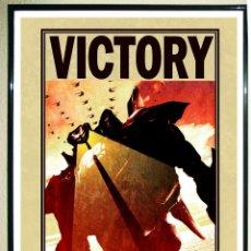 Carteles Publicitarios: POSTER DE PELICULA - PACIFIC RIM INVASION - VICTORY NYCC 2009 DE LA WARNER BROS .TAMAÑO 67X 47 CMS . Lote 111386391