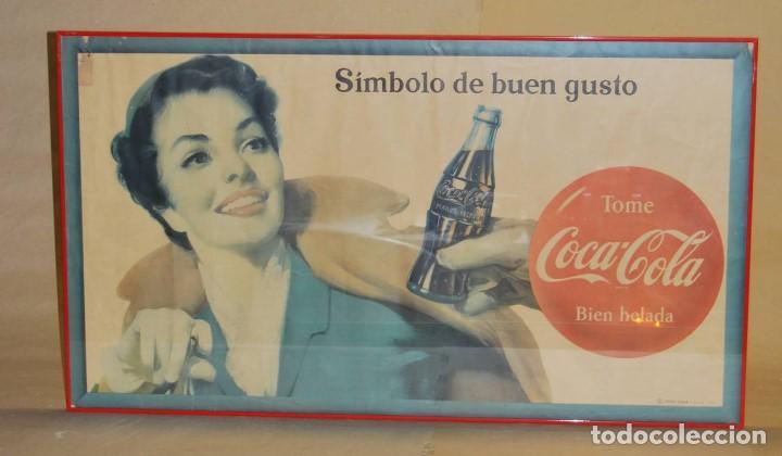 CARTEL COCA-COLA CUBANO. ORIGINAL DEL AÑO 1956 (Coleccionismo - Carteles Gran Formato - Carteles Publicitarios)
