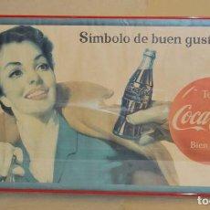 Carteles Publicitarios: CARTEL COCA-COLA CUBANO. ORIGINAL DEL AÑO 1956. Lote 111463279