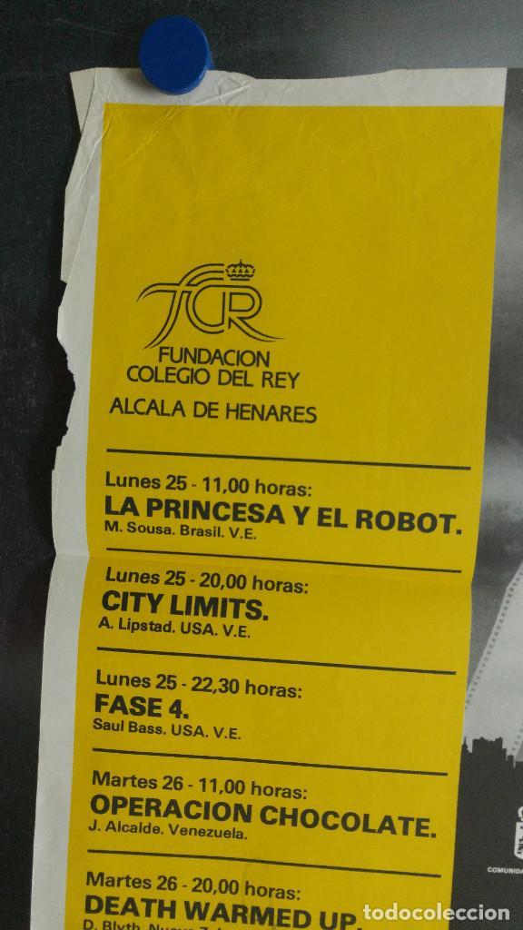 Carteles Publicitarios: IMAGFIC 85. MUESTRA DEL VI FESTIVAL INTERNACIONAL DE CINE DE MADRID EN ALCALA DE HENARES. CINE PAZ - Foto 7 - 113906531