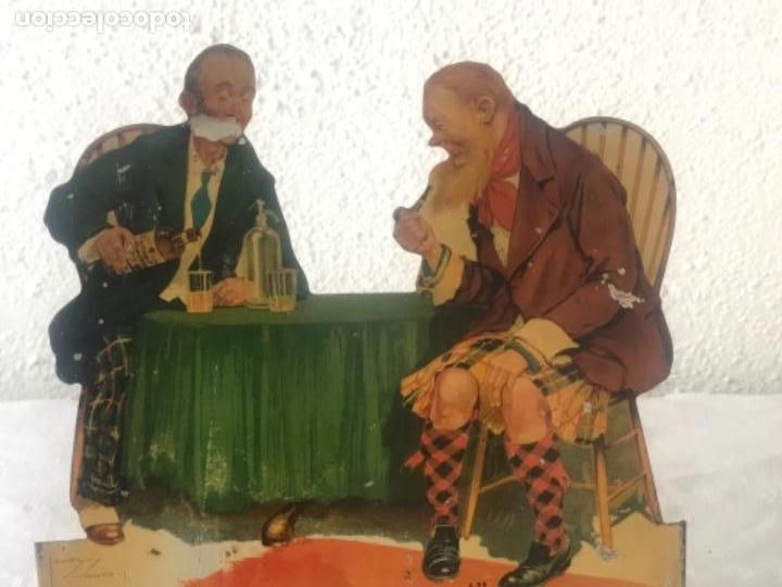 Carteles Publicitarios: CARTEL PUBLICITARIO LITOGRÁFICO DE KING GEORGE IV WHISKY. VER FOTOS. - Foto 3 - 114508607