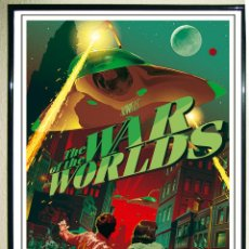 Affiches Publicitaires: BONITO CARTEL DE PELICULA - THE WAR OF THE WORLDS - TAMAÑO 45,5 X 31 ,3 CMS. Lote 190183167