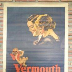 Carteles Publicitarios: CARTEL VERMOUTH PERUCCHI.C.-55. Lote 115125591