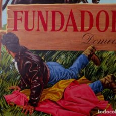 Carteles Publicitarios: FUNDADOR DOMECQ 1967. Lote 115467531