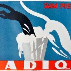 Carteles Publicitarios: CARTEL RADION. Lote 121213032