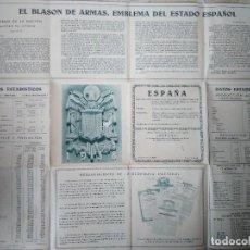 Carteles Publicitarios: COMPAÑÍA ANÓNIMA DE SEGUROS AURORA. BILBAO. 1938.. Lote 118834459