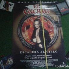 Carteles Publicitarios: POSTER CARTEL ORIGINAL 95 X 68 CM ( EL CUERVO ). Lote 118849163