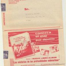 Carteles Publicitarios: FOLLETO PUBLICIDAD DE LOS ALBUMES NESTLE. 6 PÁGINAS.. Lote 118902232