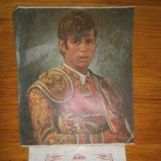 Carteles Publicitarios: MANUEL BENITEZ ..EL CORDOBES ¡¡CALENDARIO TAURINO DE ..1969 COMPLETO¡¡ MEDIDAS..42 ALTO-25 ANCHO.. Lote 121431599