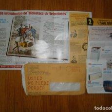 Carteles Publicitarios: ¡¡CARTA PUBLICITARIA ANTIGUA ¡¡ BUEN ESTADO AÑOS 70. Lote 121432031