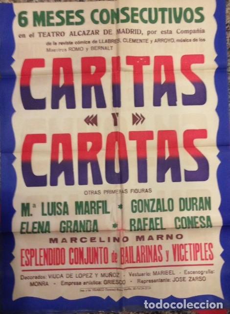 Antiguo cartel de teatro alcazar de madrid car comprar carteles antiguos publicitarios en - Carteles publicitarios antiguos ...