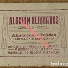 Carteles Publicitarios: CARTON PUBLICITARIO LA PENINSULAR, CASA VIAJEROS, CORDOBA, 1916, 178X108MM, REVERSO ALGARIN HERMANOS. Lote 126440491