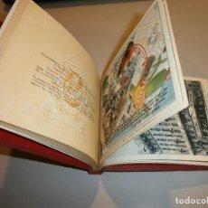 Carteles Publicitarios: CURIOSO LIBRO BLOC CON 40 LAMINAS CARTELES PUBLICITARIOS DE SEGUROS CERVANTES AÑO 1943. Lote 126577731