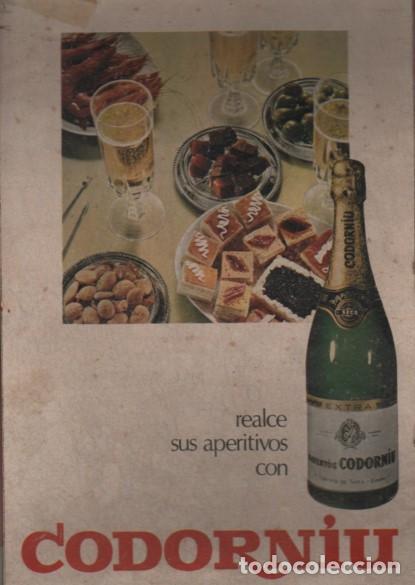 CARTEL CARTÓN PUBLICIDAD DE RAVENTOS CODORNIU - CAVA - SANT SADURNI DE NOYA (Coleccionismo - Carteles Gran Formato - Carteles Publicitarios)