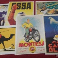 Carteles Publicitarios: LOTE 6 CARTELES PUBLICITARIOS PUBLICADOS POR EL PERIODICO ARA.CAT 30 X 21 CM.. Lote 128475103