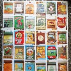 Carteles Publicitarios: POSTER ORIGINAL DE - IRISH PUB SIGNS - AÑOS 80.TAMAÑO 70X50 CMS. Lote 128644995