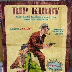 Carteles Publicitarios: RIP KIRBY ·· 45 X 60 CMS ··. Lote 131147776