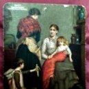 Carteles Publicitarios: CENTENARIO CARTEL AÑO 1907,CARTÓN, PUBLICIDAD TABLETA DE ANTIKAMNIA -INDUMENTARIA -25 X 20 CM.,. Lote 132519734