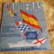 Carteles Publicitarios: CATÁLOGO BANDERAS MARÍTIMAS.. Lote 132943638