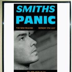 Carteles Publicitarios: PROMO POSTER - THE SMITHS - COLLECTION - PANIC- TAMAÑO 60 X 31,5 CMS. Lote 136968666