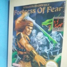 Carteles Publicitarios: POSTER CARTEL NINTENDO GAME BOY FORTRESS OF FEAR MATUTANO 40 CM X 60 CM. Lote 152501628