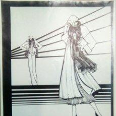 Carteles Publicitarios: CARTEL DE MODA OTOÑO INVIERNO 1975/76 DE MAITE LAFUENTE - SALLARES DEU.. Lote 143351958