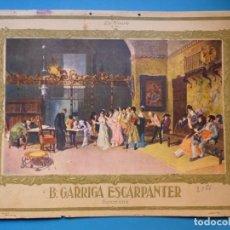 Carteles Publicitarios: PUBLICIDAD EN CARTON DE DE B. GARRIGA ESCARPANTER, BARCELONA - AÑOS 1920-30. Lote 143598382