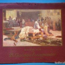 Carteles Publicitarios: PUBLICIDAD EN CARTON DE DE SOBRINA B. GARRIGA ESCARPANTER, BARCELONA - AÑOS 1930. Lote 143598914