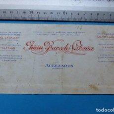 Carteles Publicitarios: ALGEZARES, MURCIA - LICOR EL CABALLO, JUAN BARCELO SABAÑA - ORIGINAL PINTADO A MANO. Lote 143708442