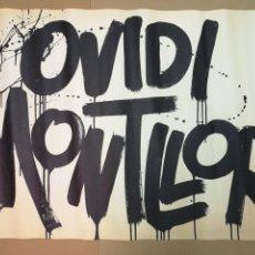 Carteles Publicitarios: OVIDI MONTLLOR,CARTEL DE 1975.MIDE 98CM.X68CM.. Lote 143829518
