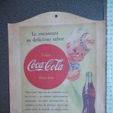 Affiches Publicitaires: CARTEL PUBLICITARIO COCA COLA 23 X 32 CENTÍMETROS AÑO 1943 MUY RARO. Lote 146958866