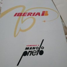 Carteles Publicitarios: MANOLO PRIETO POSTERS IBERIA. Lote 150095390