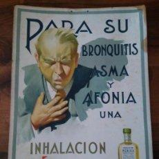 Carteles Publicitarios: CARTÓN CARTEL PUBLICITARIO FARMACIA. Lote 151482694