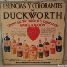 Carteles Publicitarios: CARTEL DISPLAY ORIGINAL DUCKWORTH. Lote 153693262