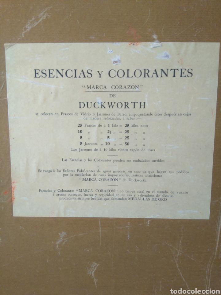 Carteles Publicitarios: Cartel Display original Duckworth - Foto 3 - 153693262
