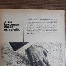 Carteles Publicitarios: RECORTE PUBLICITARIO. IDEAL PARA ENMARCAR. SEAT. Lote 153698886