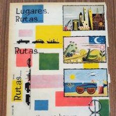 Carteles Publicitarios: RECORTE PUBLICITARIO. IDEAL PARA ENMARCAR. CAMIONES BARREIROS. Lote 153801134