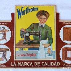 Carteles Publicitarios: WERTHEIM CARTEL PUBLICITARIO CON RELIEVE DISPLAY DE CARTON. Lote 154126574