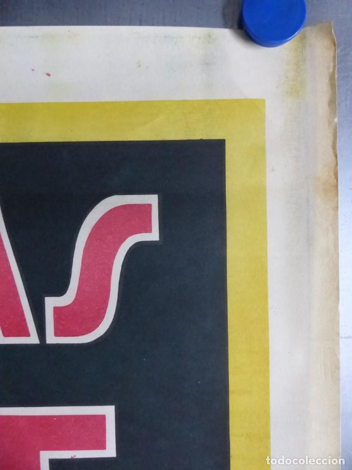 Carteles Publicitarios: Cartel PASTILLAS ASPAIME TOS (hombre) - CARTEL LITOGRAFICO - años 1940 - Foto 5 - 154173338