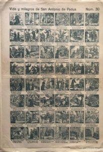 Auca. Vida y milagros de San Antonio de Padua Núm. 30. 45,3x32,8 cm