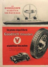 Publicidad Goodrich. Colombes