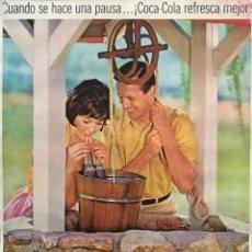 Carteles Publicitarios: PUBLICIDAD COCACOLA 30×40 CM. Lote 155286026