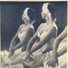 Carteles Publicitarios: 1962 PUBLICIDAD PHILIPS SOBRE CARTULINA NEGRA 32,3×45,8 CM. Lote 155288206